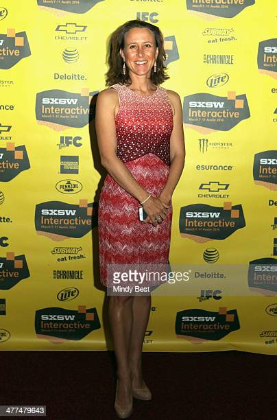 Biotech analyst Anne Wojcicki attends The Future of Genetics in Our Everyday Lives during the 2014 SXSW Music Film Interactive Festivalat Austin...
