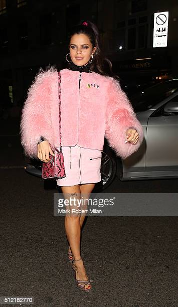 Bip Ling attending the The Brit Awards Warner Music Group After Party on February 24 2016 in London England