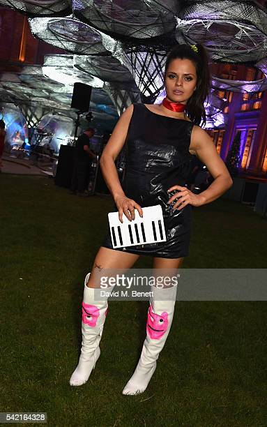 Bip Ling attends the 2016 VA Summer Party In Partnership with Harrods at The VA on June 22 2016 in London England