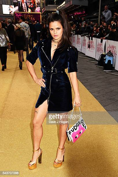 Bip Ling attends the World Premiere of 'Absolutely Fabulous The Movie' at Odeon Leicester Square on June 29 2016 in London England