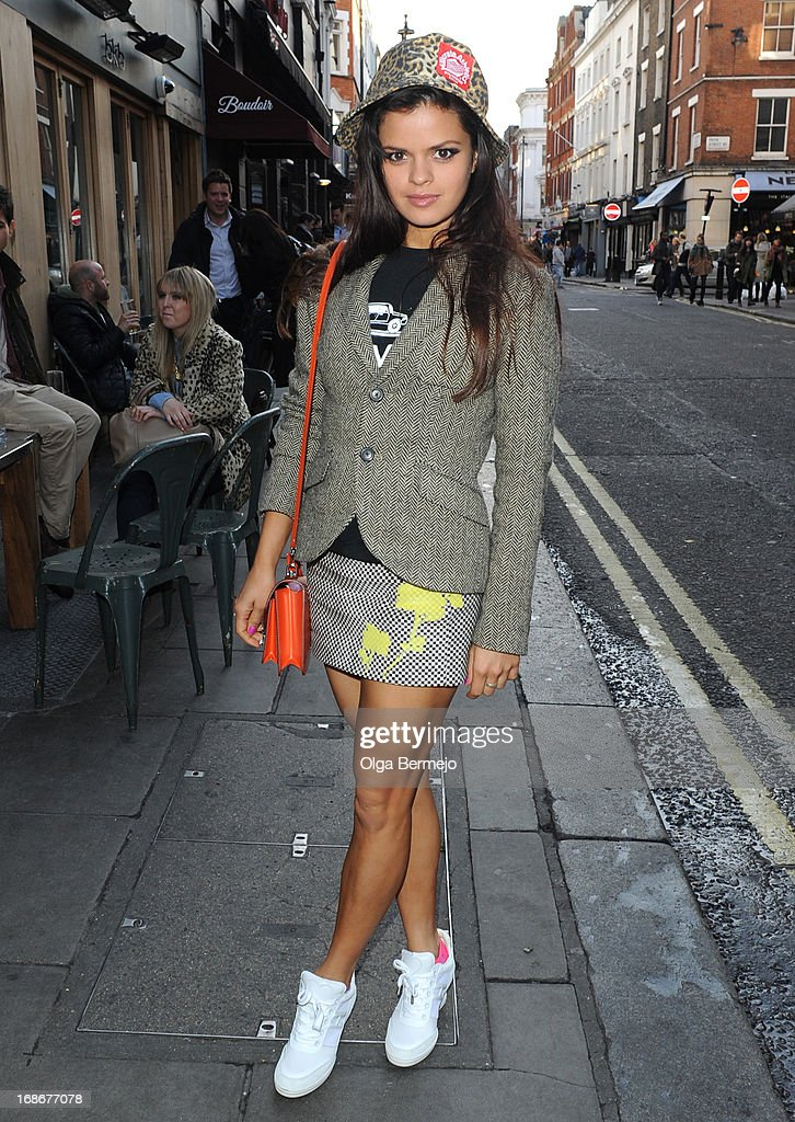 Bip Ling sighting on May 13, 2013 in London, England.