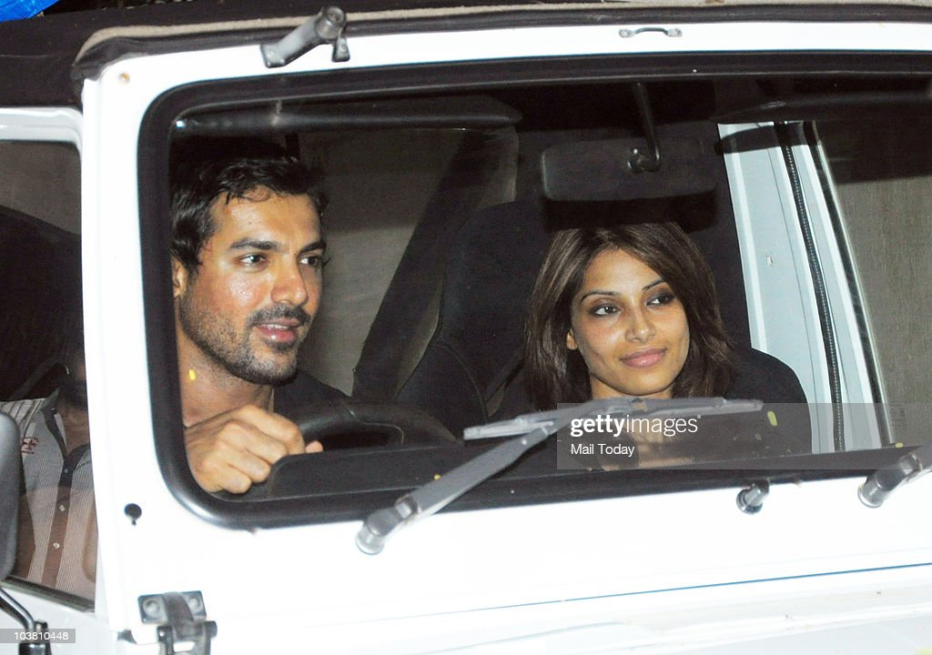 Bipasha Basu and John Abraham at the screening of the film Dombivali Fast in Mumbai on September 2 2010