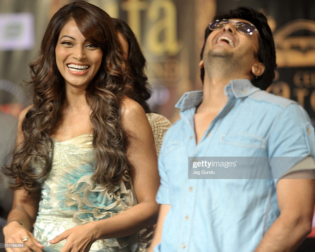 Bipasha Basu and Ritesh Deshmukh at the official launch of the 2011 IFFA press conference at the Royal York Hotel on June 23 2011 in Toronto Canada