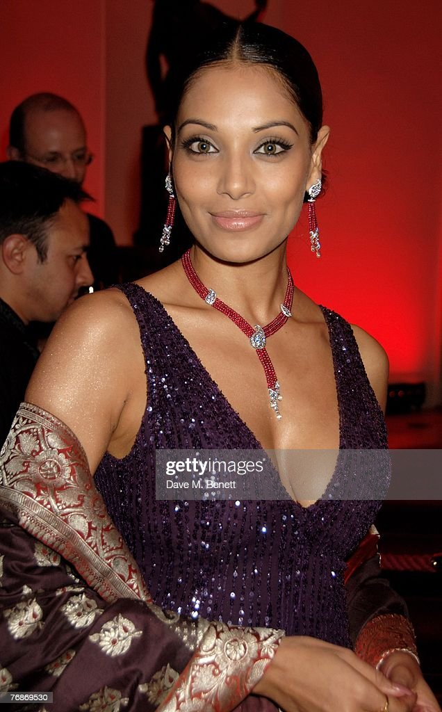 Bipasha Basu attends the Cartier International Jewellery Launch Night at Lancaster House on September 19 2007 in London England