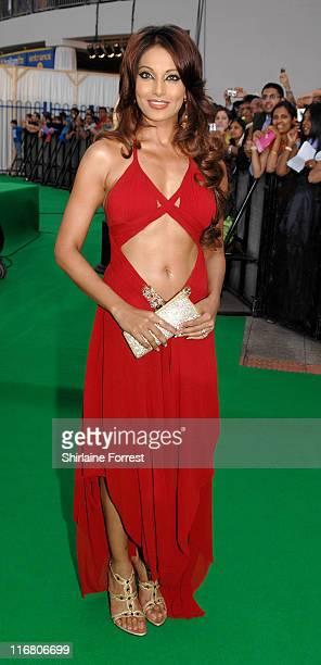 Bipasha Basu during Indian International Film Awards - Green Carpet at Sheffield Hallam FM Arena in Sheffield, Great Britain.