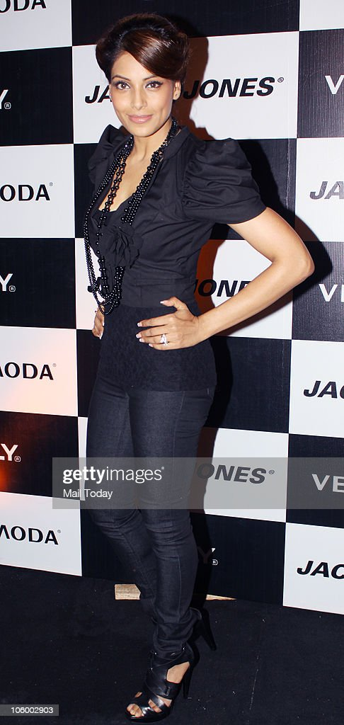 Bipasha Basu during the launch of a collection by Vero Moda in Mumbai on October 23 2010