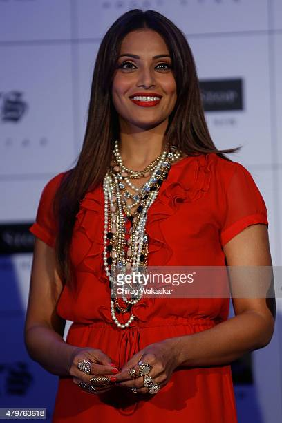 Bipasha Basu presents Shoppers Stop's Rocky Star's RS brand at JW Marriott on July 7 2015 in Mumbai India