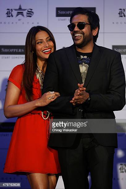 Bipasha Basu & Rocky Star at JW Marriott on July 7, 2015 in Mumbai, India.