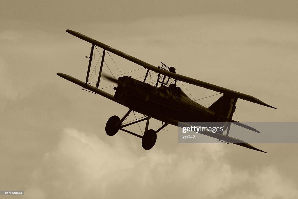 WWI Biplan. : Photo