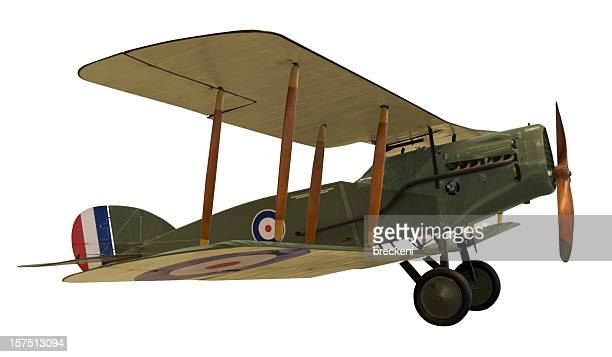 wwi biplane - world war one stock pictures, royalty-free photos & images