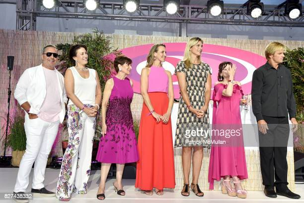 Bippy Siegal Jackie Siegal Myra Biblowit Kinga Lampert Gabby Reece Lisa PevaroffCohn and Laird Hamilton attend Sixth Annual Hamptons Paddle and Party...