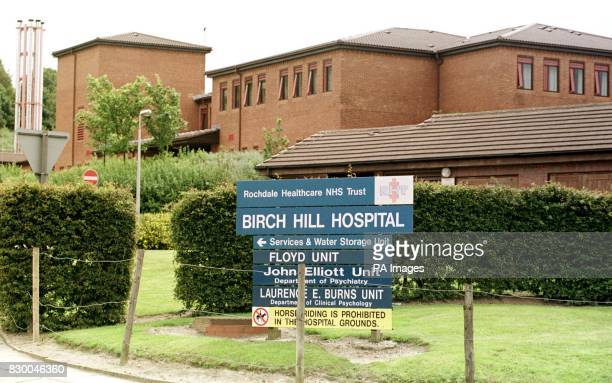 Birch Hill hospital in Rochdale Greater Manchester which is at the centre of a police investigation into concerns over patient deaths and allegations...