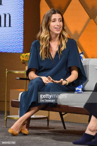 Birchbox co-founder CEO Katia Beauchamp speaks onstage during Vanity Fair's Founders Fair at Spring Studios on April 12, 2018 in New York City.
