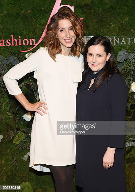 Birchbox co-founder Katia Beauchamp and Beauty & Fitness Director at Elle Magazine, Emily Dougherty, attend the 19th Annual Fashion Group...