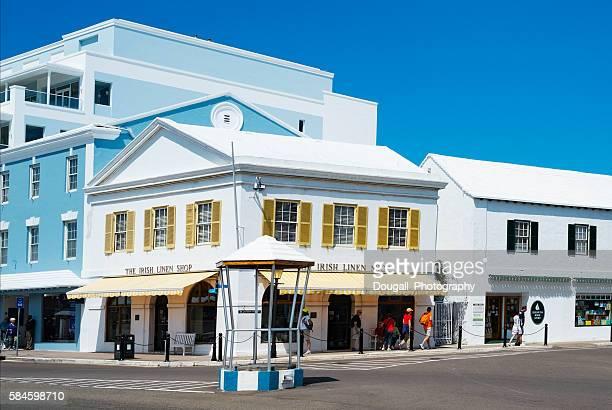Bird Cage on Front Street, Hamilton Bermuda