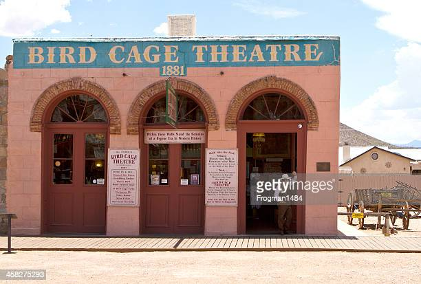 bird cage theater - tombstone arizona stock pictures, royalty-free photos & images
