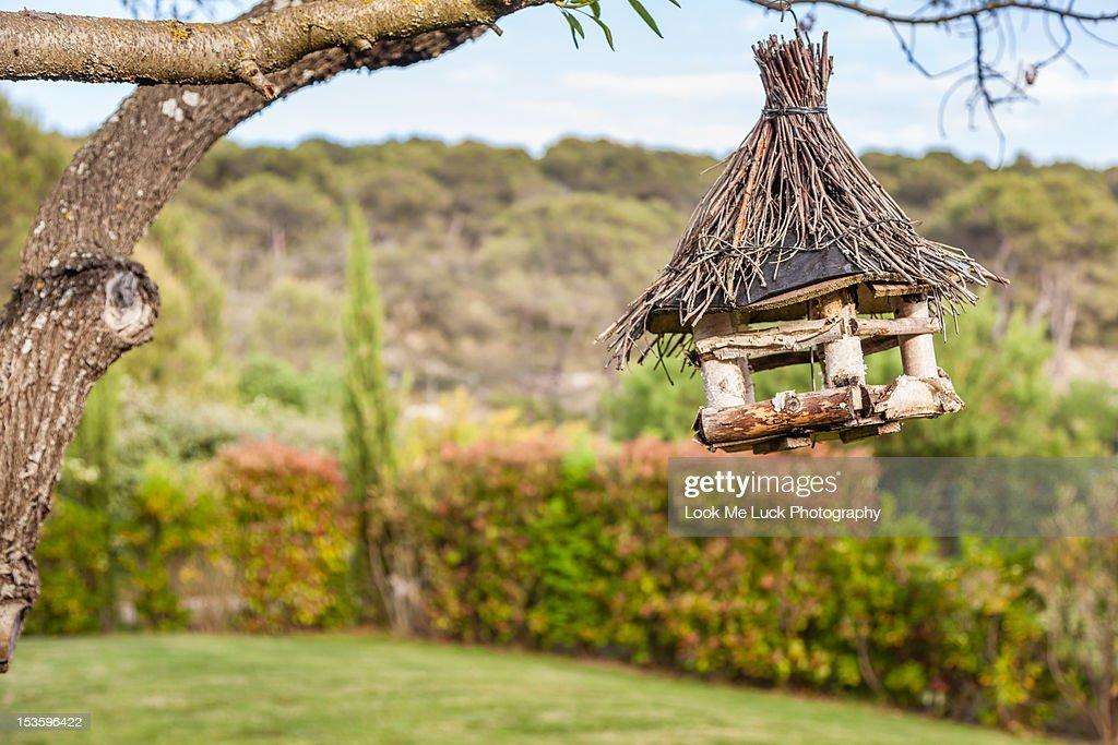 Bird house : Stock Photo