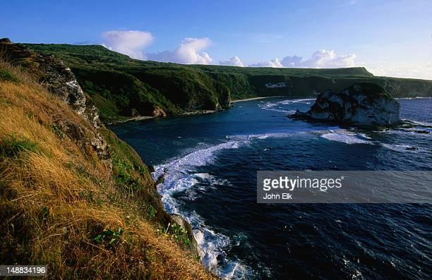 bird island lookout. - saipan stock pictures, royalty-free photos & images