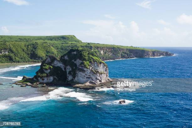 bird island, saipan, northern mariana islands, usa - 北マリアナ諸島 ストックフォトと画像