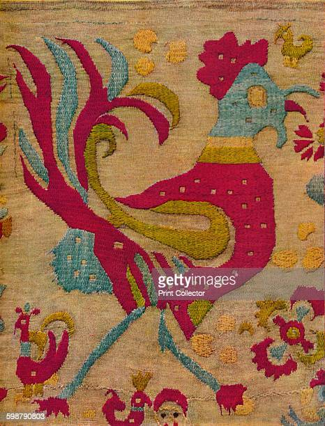 Bird Motif from an embroidered valance of Ionian Islands circa 1640 Bird motif pattern from and embroidered valance of The Ionian Islands Greece From...