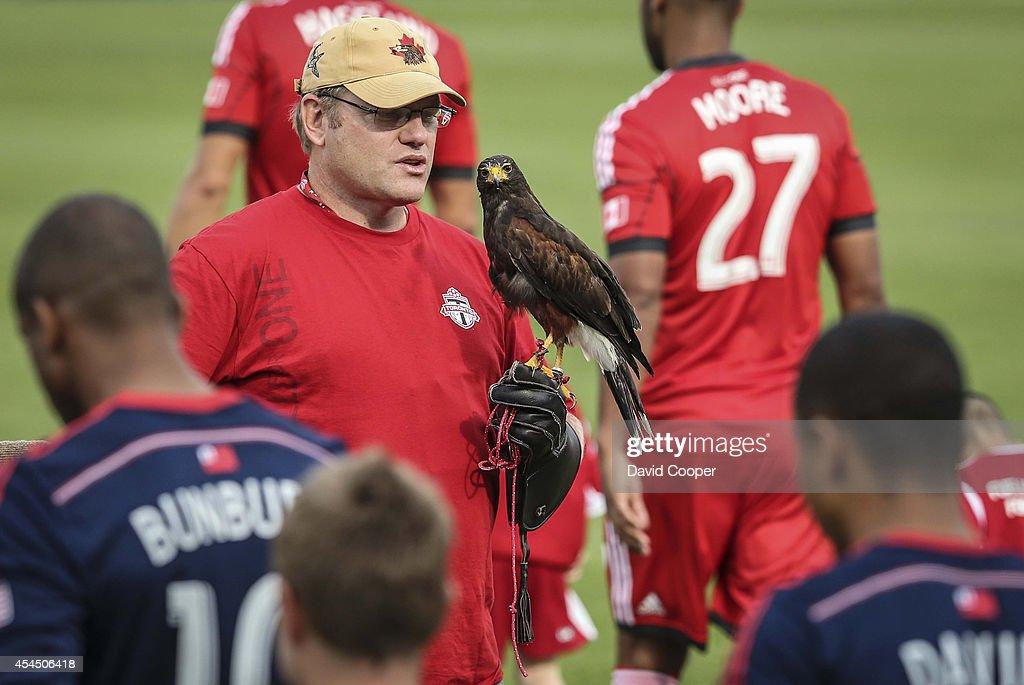 Toronto FC V New England Revolution : News Photo