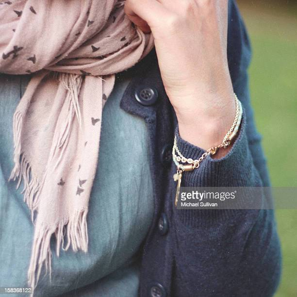 bird scarf - charm bracelet stock pictures, royalty-free photos & images