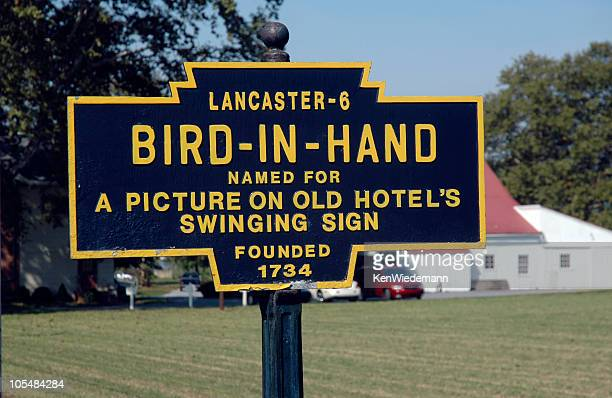 bird-in-hand - lancaster county pennsylvania stock pictures, royalty-free photos & images