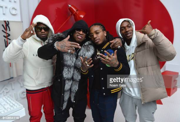 Birdman and Jacquees attend Republic Records Celebrates the GRAMMY Awards in Partnership with Cadillac Ciroc and Barclays Center at Cadillac House on...
