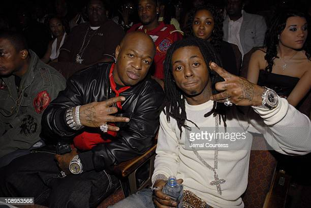 Birdman and Lil Wayne during 2006 BET Hip-Hop Awards - Audience and Backstage at Fox Theatre in Atlanta, Georgia, United States.