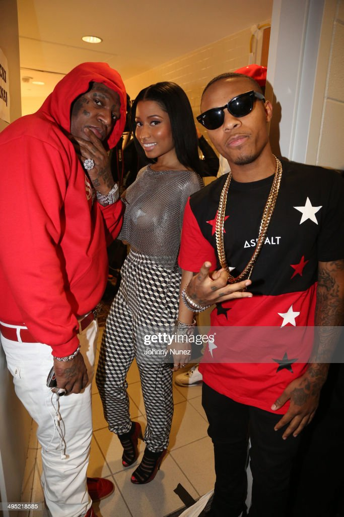 Birdman, Nicki Minaj and Bow Wow attend Hot 97 Summer Jam 2014 at MetLife Stadium on June 1, 2014 in East Rutherford City.