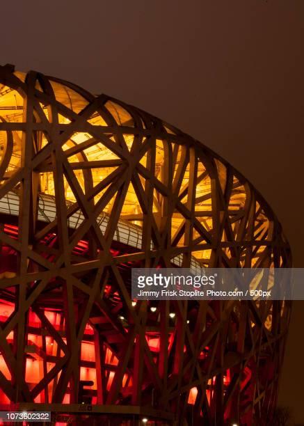 birdnest beijing - stadio olimpico nazionale foto e immagini stock