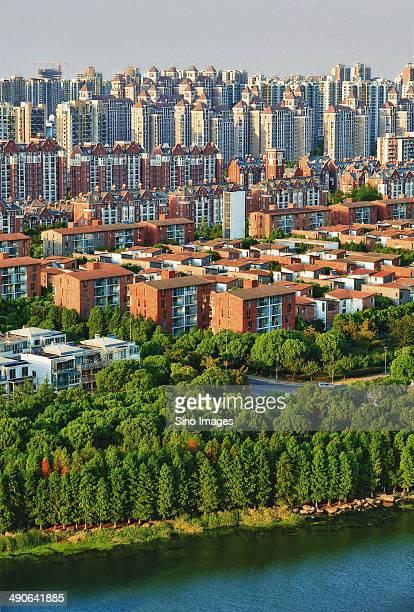 Bird\'s Eye View of Developed City