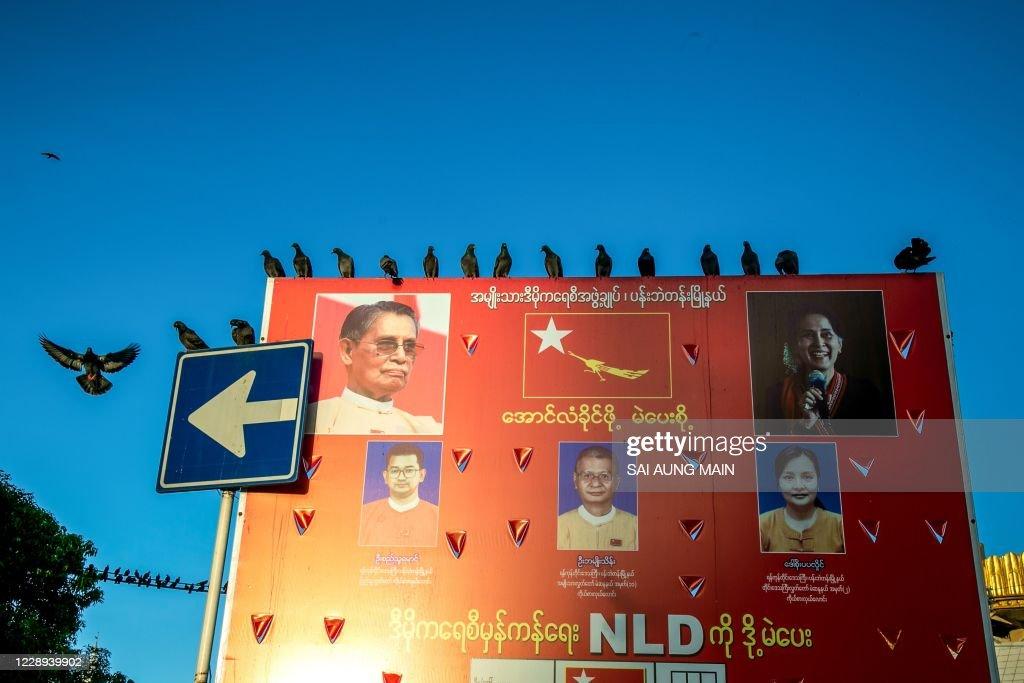 MYANMAR-POLITICS-VOTE : News Photo