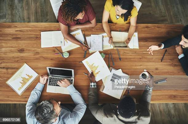 birds-eye view of business - brainstorming stock pictures, royalty-free photos & images