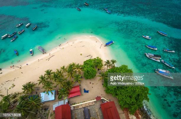 Bird's-Eye View of Lengkuas Island