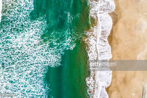 A bird's-eye view of the wave.