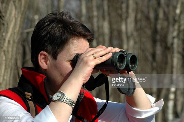 birdwatching - ecologist stock pictures, royalty-free photos & images