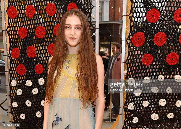 Birdy attends as RED Valentino celebrates the opening of their first London flagship store during LFW on September 17 2016 in London England
