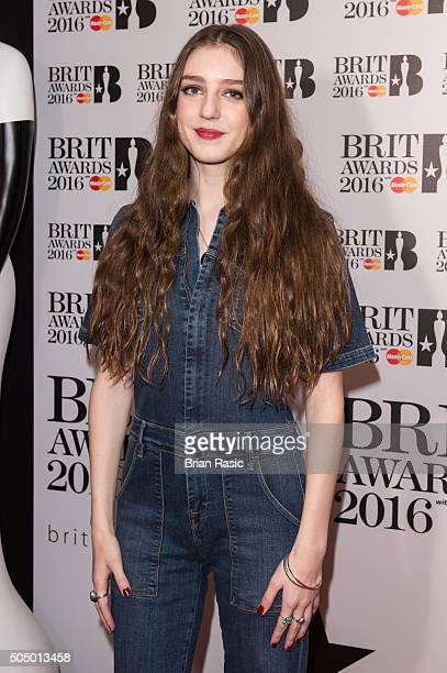 ONLY] Birdy attends the nominations launch for The Brit Awards 2016 at ITV Studios on January 14 2016 in London England