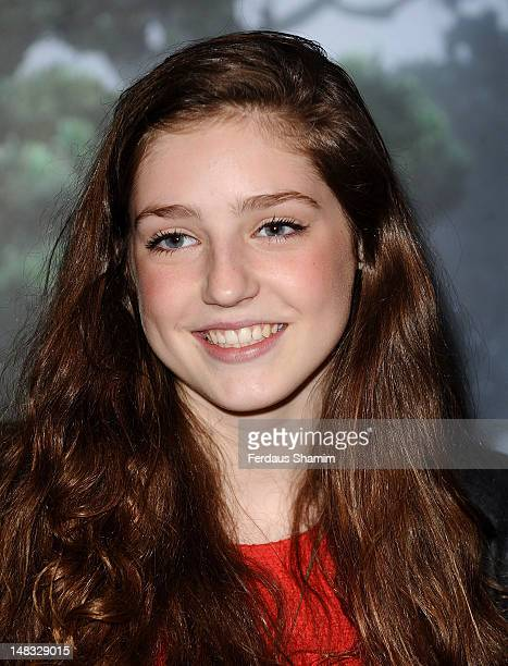 Birdy attends the UK premiere of 'Brave' at BAFTA on July 14 2012 in London England