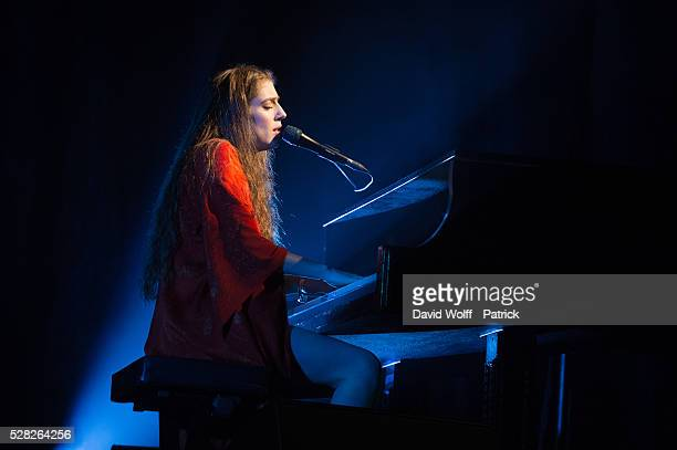 Birdy performs at L'Olympia on May 4 2016 in Paris France