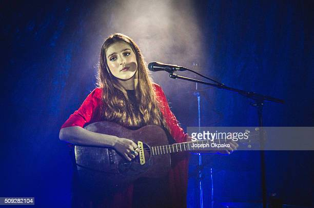 Birdy performs at Oslo on February 9 2016 in London England