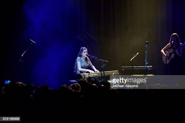 Birdy performs at the Danforth Music Hall in Toronto Canada