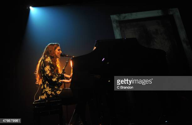 Birdy performs on stage at The Forum on March 4 2014 in London United Kingdom