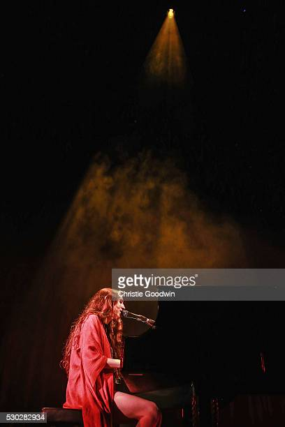 Birdy performs on stage at the Roundhouse on May 10 2016 in London England