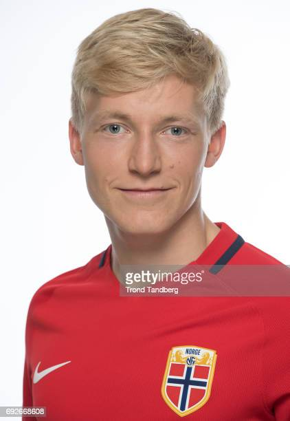 Birger Solberg Meling of Norway National Team during Photocall at Ullevaal Stadion on June 5 2017 in Oslo Norway