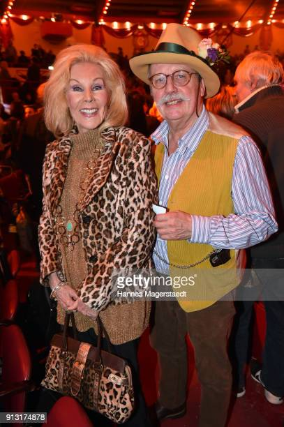 Birgit Bergen and Wolfgang Prinz during Circus Krone celebrates premiere of 'Hommage' at Circus Krone on February 1 2018 in Munich Germany