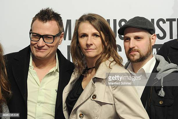 Birgit Denk poses for a photograph during the Amadeus Austrian Music Awards 2015 at Volkstheater on March 29 2015 in Vienna Austria