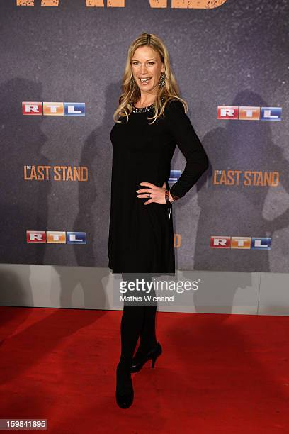 Birgit Graefin von Bentzel attends the 'The Last Stand' Cologne Premiere at Astor Film Lounge on January 21 2013 in Cologne Germany