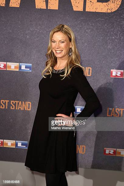 Birgit Graefin von Bentzel attends the 'The Last Stand' Cologne Premiere at Astor Film Lounge on January 21, 2013 in Cologne, Germany.